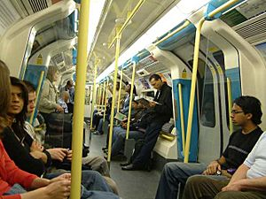 London Underground Interior Jubilee line