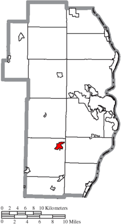 Location of Smithfield in Jefferson County