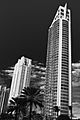 Pinnacle sunny isles from south black and white.jpg