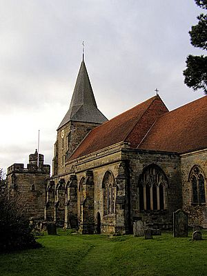 St Dunstan's Church, Mayfield - geograph.org.uk - 1160035
