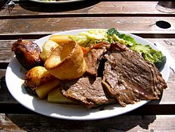 Sunday roast - roast beef 1