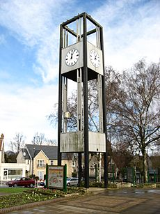 Clock Tower, Keynsham. from south-west
