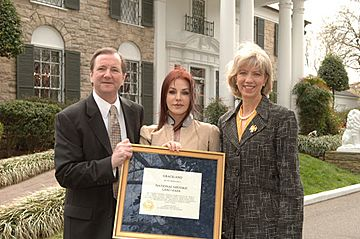 Designation of Graceland Mansion as a National Historic Landmark 2006