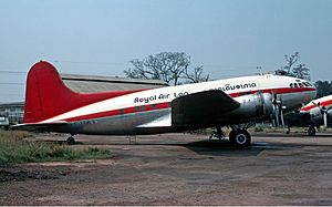 Royal Air Lao Boeing 307 Stratoliner Volpati
