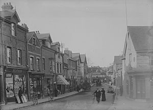 Bridge Street, Caversham, c. 1905
