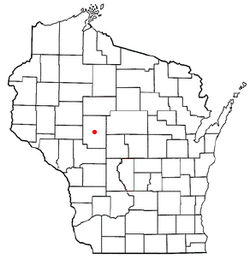 Location of Eaton, Wisconsin