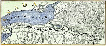 Erie-canal 1840 map