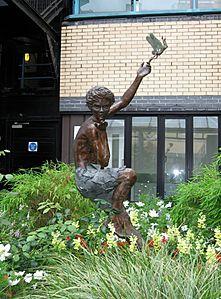 Peter Pan statue by Diarmuid Byron O'Connor