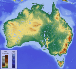 Map Of Australia Facts.Australia Facts For Kids