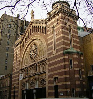 Roman Catholic Church of the Holy Trinity at 213 West 82nd Street