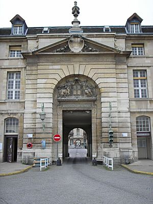 Salpetriere Mazarin Entrance