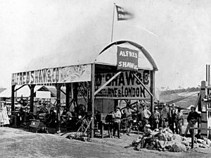 StateLibQld 1 114016 Alfred Shaw and Co.'s machinery exhibition at the Queensland Intercolonial Exhibition in 1876