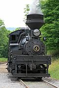 Cass Scenic Railroad State Park - Shay 4
