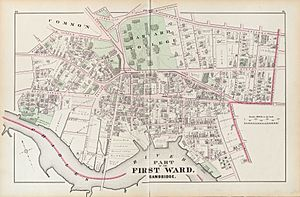 Harvard Square Hopkins Map 1873