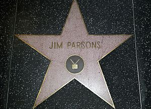 Jim Parsons Walk of Fame Star