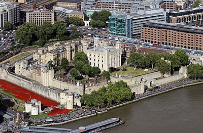 Tower of London (Foto Hilarmont)