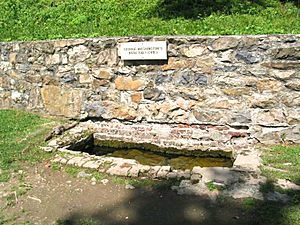 George Washington's Bathtub