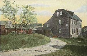 Old Pratt House, Chelsea, MA