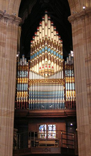 St Andrews Cathedral Sydney Organ
