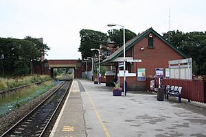 St Annes on the Sea rail station, 2009