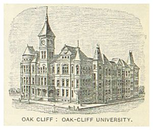 US-TX(1891) p826 OAK CLIFF, OAK CLIFF UNIVERSITY