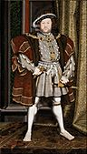 Workshop of Hans Holbein the Younger - Portrait of Henry VIII - Google Art Project