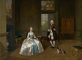 Arthur Devis - Mr and Mrs Atherton - Google Art Project