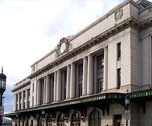 Baltimore Pennsylvania Station corrected