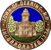 Official seal of Deering, New Hampshire