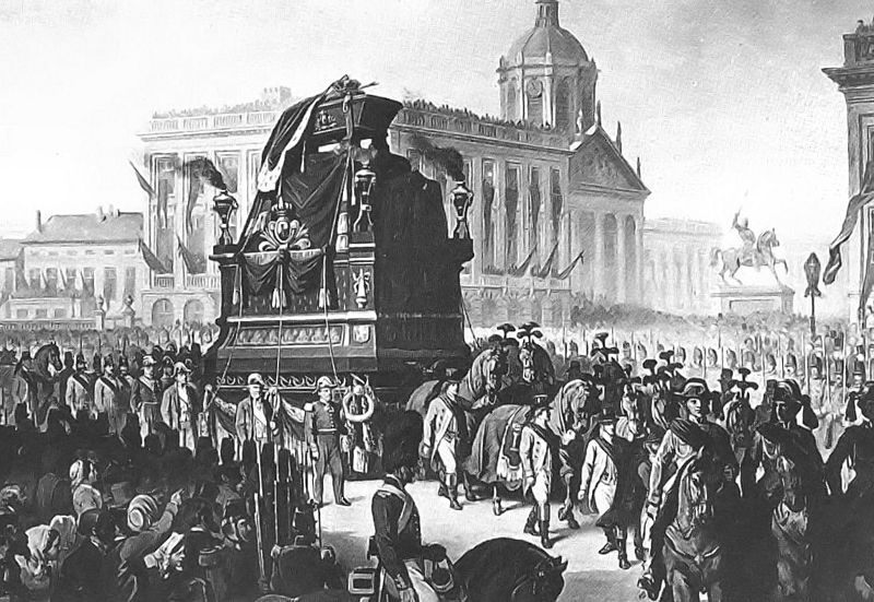 Funeral Leopold I of the Belgians
