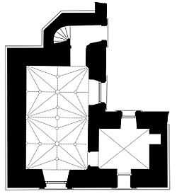Plan of the Jewel Tower