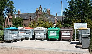 Recycling Point - geograph.org.uk - 1382457