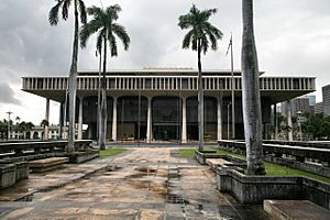 State of Hawaii's Capitol building