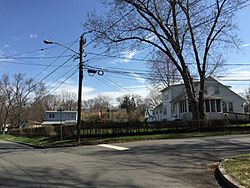 Homes along Mabel Street and Ray Street in the Heath Manor section of Ewing, New Jersey