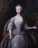 Augusta of Saxe-Gotha, Princess of Wales by Charles Philips