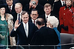 George H. W. Bush inauguration