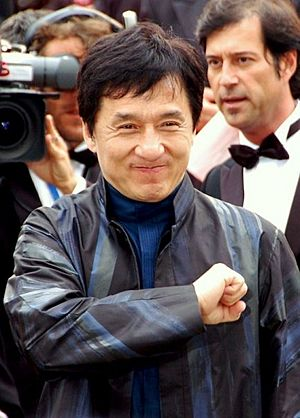 Jackie Chan Cannes