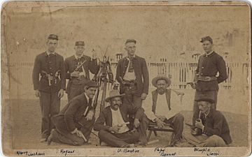Maverick County Jail Guards, 1891