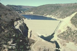 Mcphee Dam and Reservoir