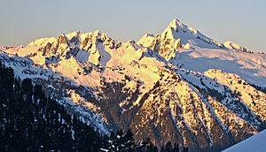 The Triad and Eldorado Peak