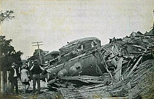 Train Wreck of 1907, Canaan, NH