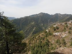 View of Khanaspur village