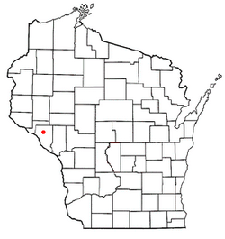 Location of Modena, Wisconsin