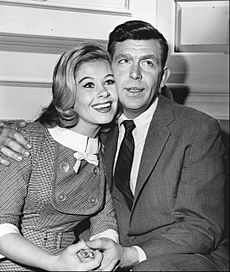 Andy Griffith and Sue Ane Langdon, Andy Griffith Show 1962