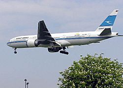 Boeing 777-200 (Kuwait Airways) 091