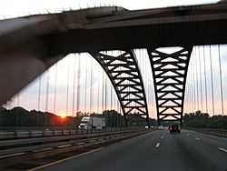 Kosciusko Bridge 20110721 2
