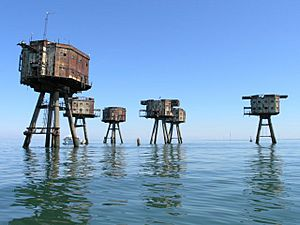 Maunsell Army Fort