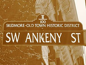 Skidmore-Old Town Historic District SW Ankeny St
