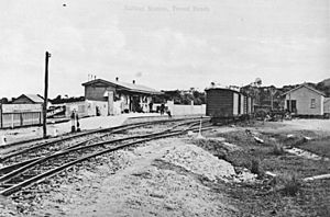 StateLibQld 1 298511 Tweed Heads Railway Station, ca. 1911