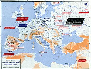 Strategic Situation of Europe 1812